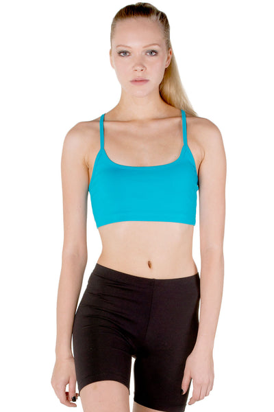 Adjustable Racerback Sports Bra
