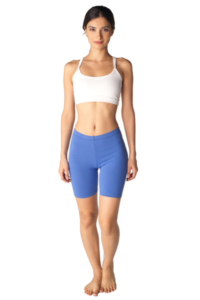 Combed Cotton Spandex Shorts