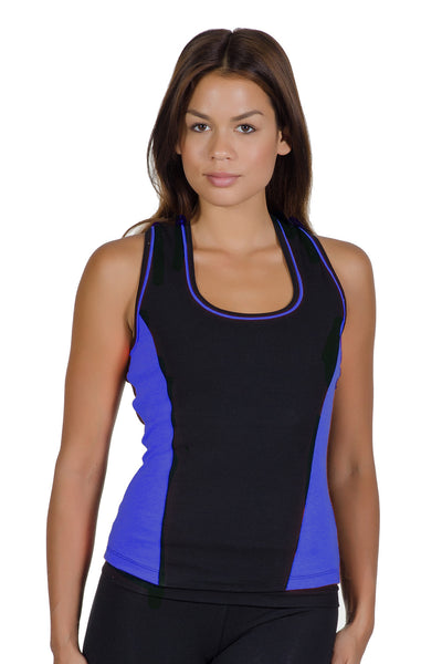 Colorblock Fusion Tank - Intouch Clothing - 4