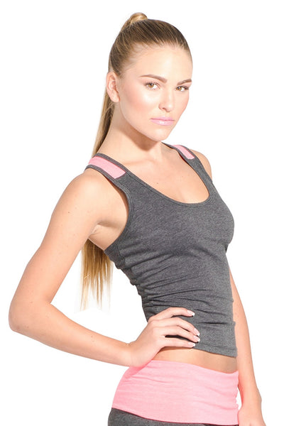 Performance Two-Tone Tank - Intouch Clothing - 3
