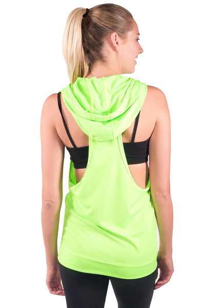 Spin Tech Driwear Sleeveless Hoodie - Intouch Clothing - 10