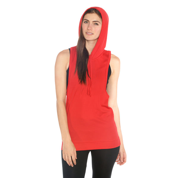 Driwear Hooded Run Top