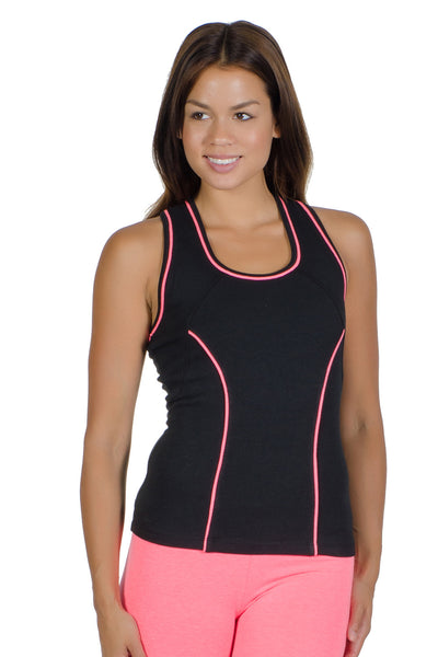 Contrast Sport Tank Top - Intouch Clothing - 3