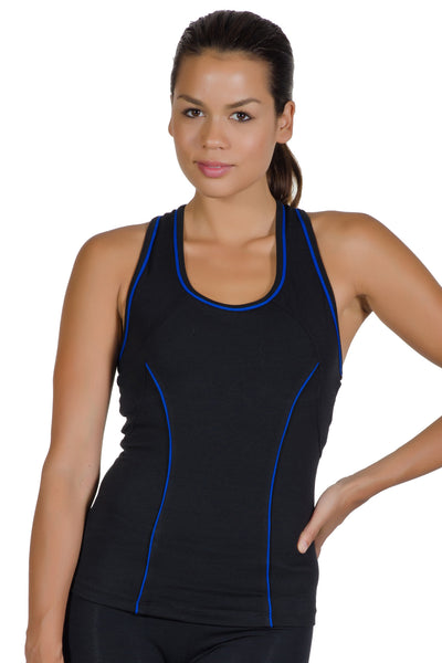 Contrast Sport Tank Top - Intouch Clothing - 2