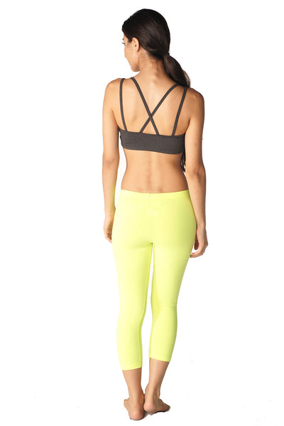 Cotton Spandex Capri Legging - Intouch Clothing - 30