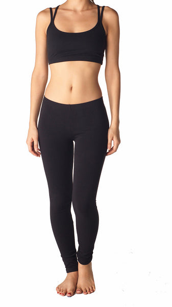 Combed Cotton Spandex Legging - Intouch Clothing - 34
