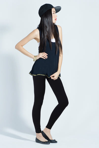 Combed Cotton Spandex Legging