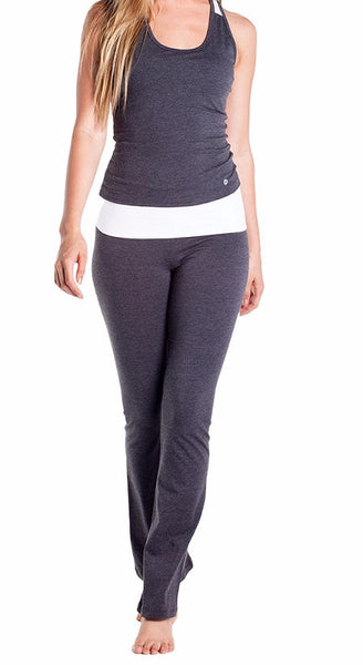 Fold Over Studio Pant - Intouch Clothing - 1