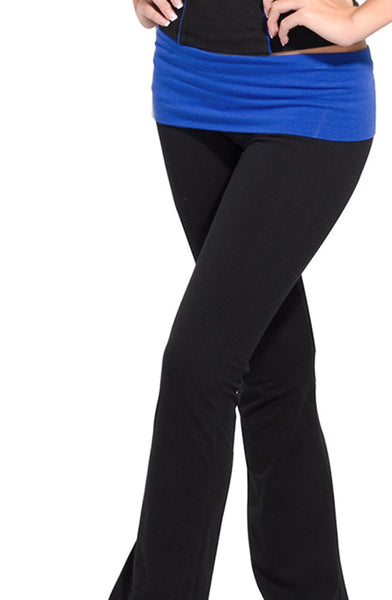 Fold Over Studio Pant - Intouch Clothing - 3