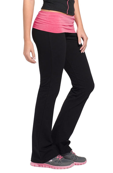 Fold Over Studio Pant - Intouch Clothing - 2