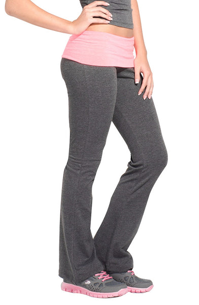 Fold Over Studio Pant - Intouch Clothing - 4