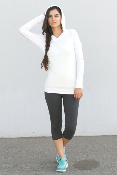 Slimming Cotton Capri Legging - Intouch Clothing - 1