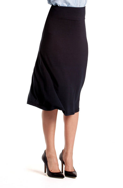 Bamboo Midi Skirt - Intouch Clothing - 3