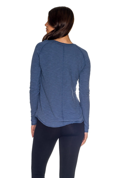 Dual Layer V-Neck Raglan