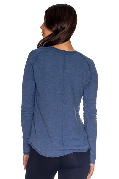 Dual Layer Crew Neck Raglan