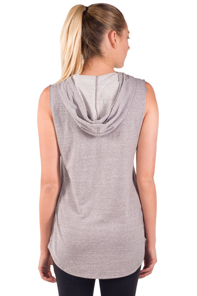 French Terry Cut Sleeve Hoodie - Intouch Clothing - 3