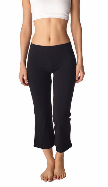 Combed Cotton Basics Jazz Capris - Intouch Clothing - 4
