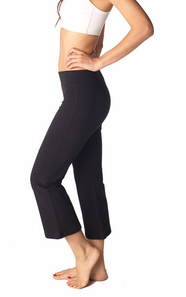 Combed Cotton Basics Jazz Capris - Intouch Clothing - 5