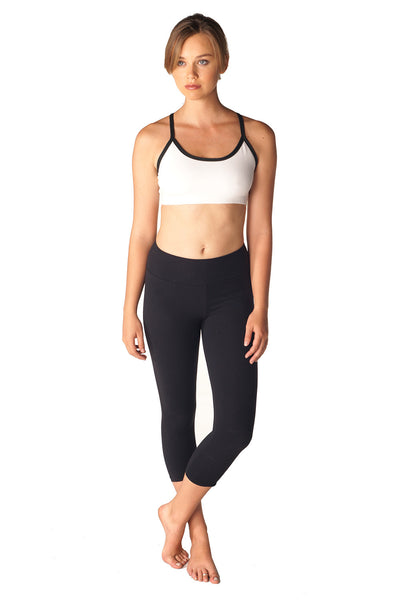 Scoop Neck Criss Cross Sports Bra - Intouch Clothing - 10