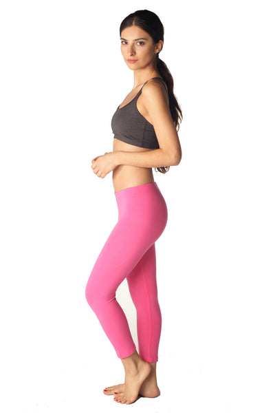 Cotton Spandex Capri Legging - Intouch Clothing - 6