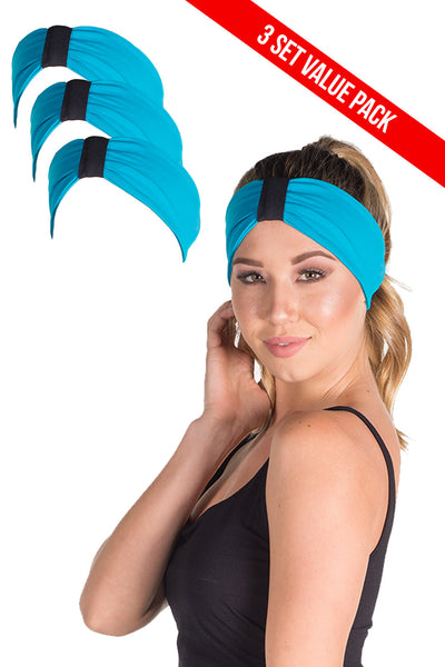 3 Pack Good Vibes Headband