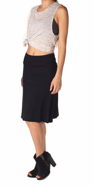 Bamboo Sweet Flare Skirt - Intouch Clothing - 1