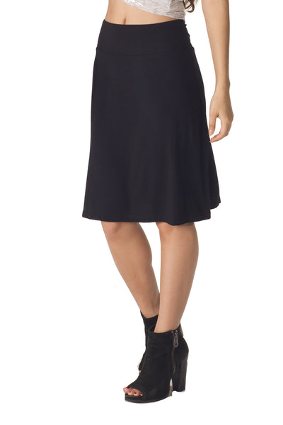 Bamboo Sweet Flare Skirt - Intouch Clothing - 2