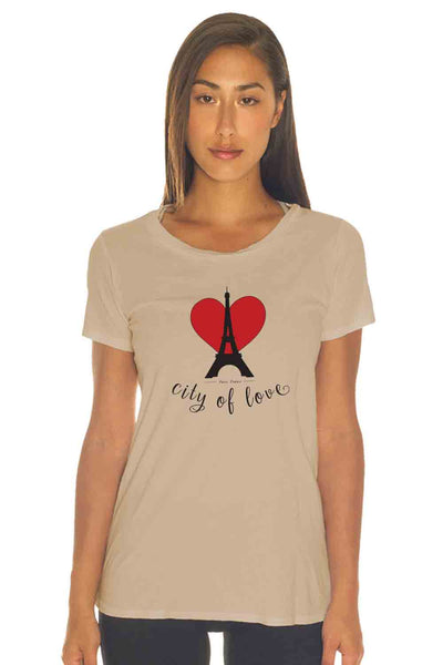 City of Love Organic Cotton Tee