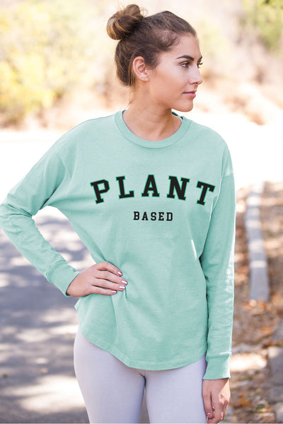 """Plant Based"" Organic Cotton Jersey"