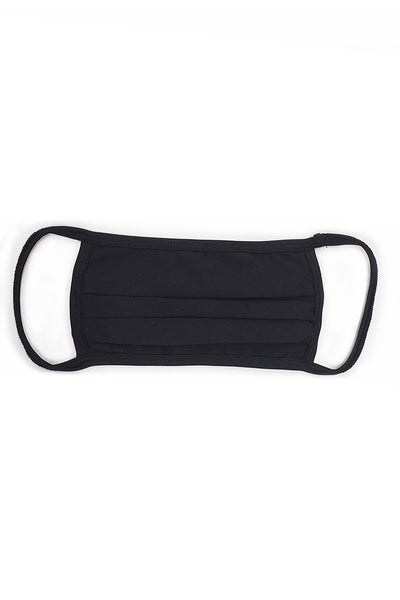 Unisex Pleated Double Layer Mask