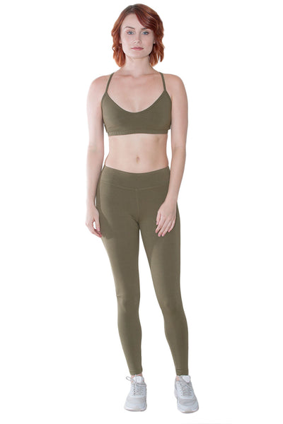 Organic Cotton + Spandex Leggings