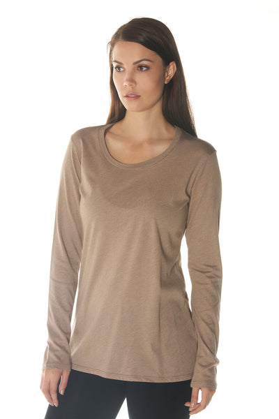 Organic Cotton Long Sleeve Tee