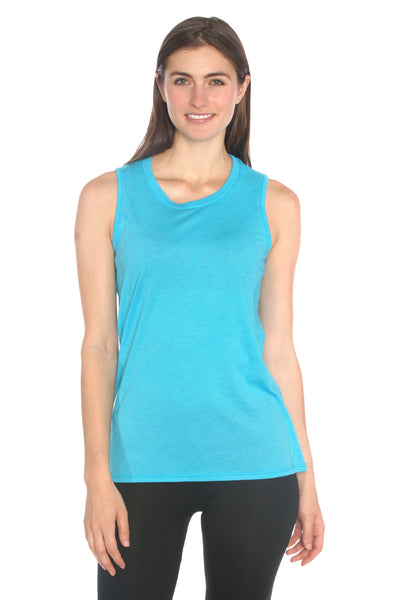 Magpie Muscle Tank in Organic Cotton