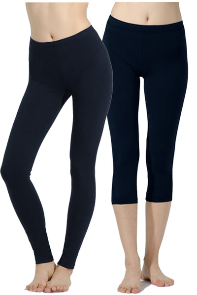 Trail Blazer 2 Pack Stretch Leggings & Capris