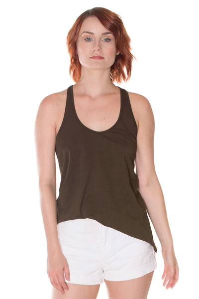 PEACE COLLECTION Sparrow Organic Swoop Flare Tank