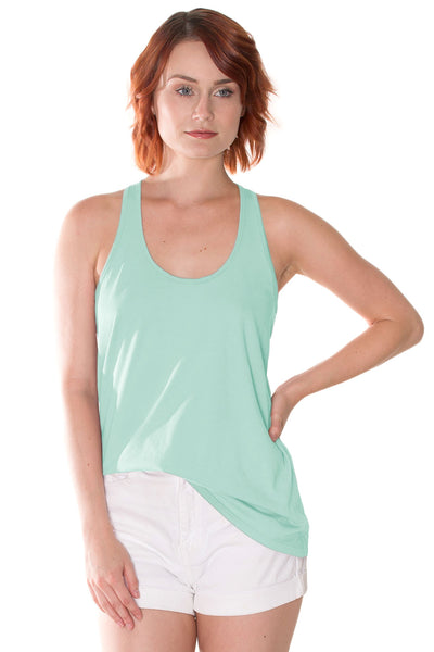 Organic Cotton Flowy Tank
