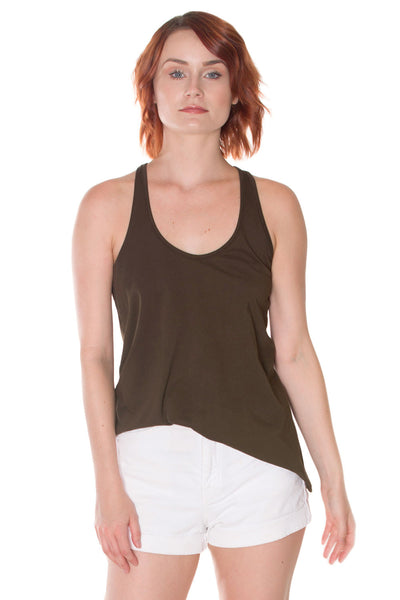 PEACE COLLECTION Finch Racer Back Tank in Organic Cotton