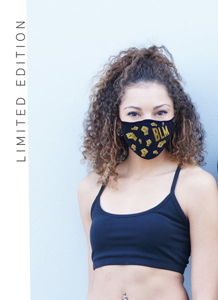BLM Triple Layer Safe-Fit Face Mask