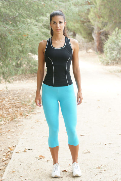 Contrast Sport Tank Top - Intouch Clothing - 1
