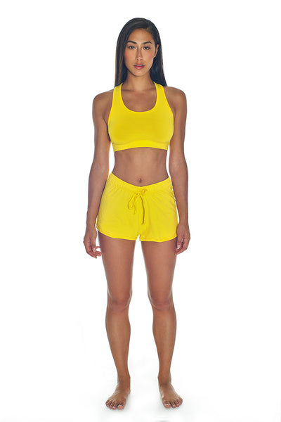 Certified Organic Energy Bra & Short Set