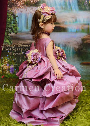 Antique Purple Princess Dress