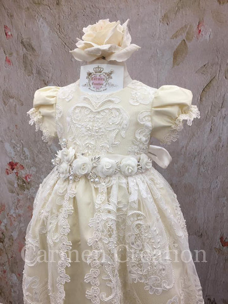 Janis Baptism Gown Tea