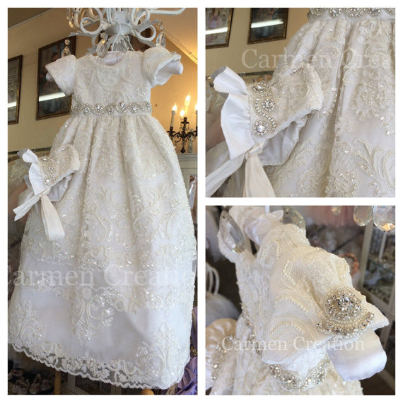 My Lady Baptism Gown Ivory