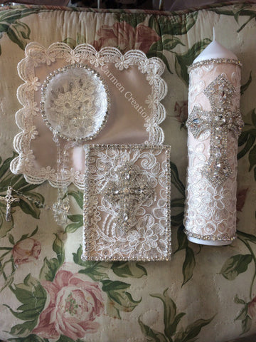 Blush Baptism Set