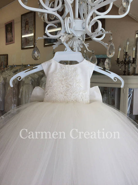 Mini Bride Flower Girl Dress 1000 NB