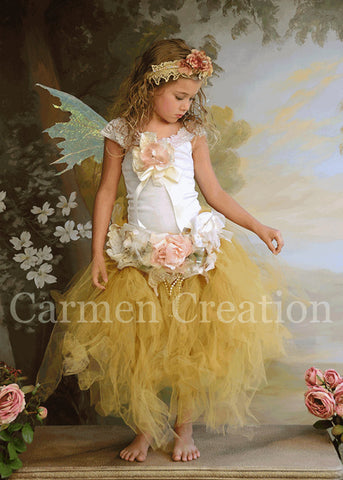 Whimsical Fairy Tutu Set (Sage)