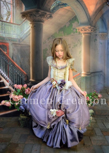 Dorothy Renaissance Fairy Dress Lavender