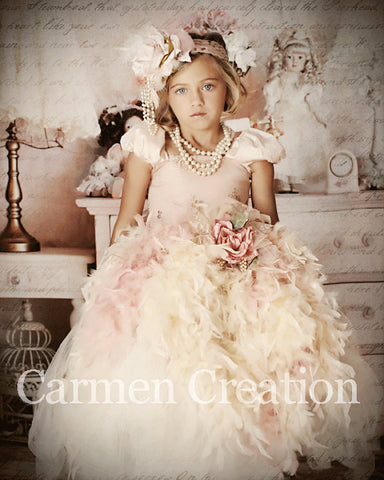 9a7b81ad0cb Carmen Creation. From   150.00. Baby Dream Feather Dress
