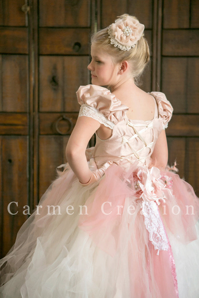 e075750e40 Beautiful Flower Girl Dress Blush – Carmen Creation
