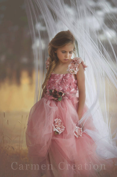 Couture Fairy Flower Girl Dress